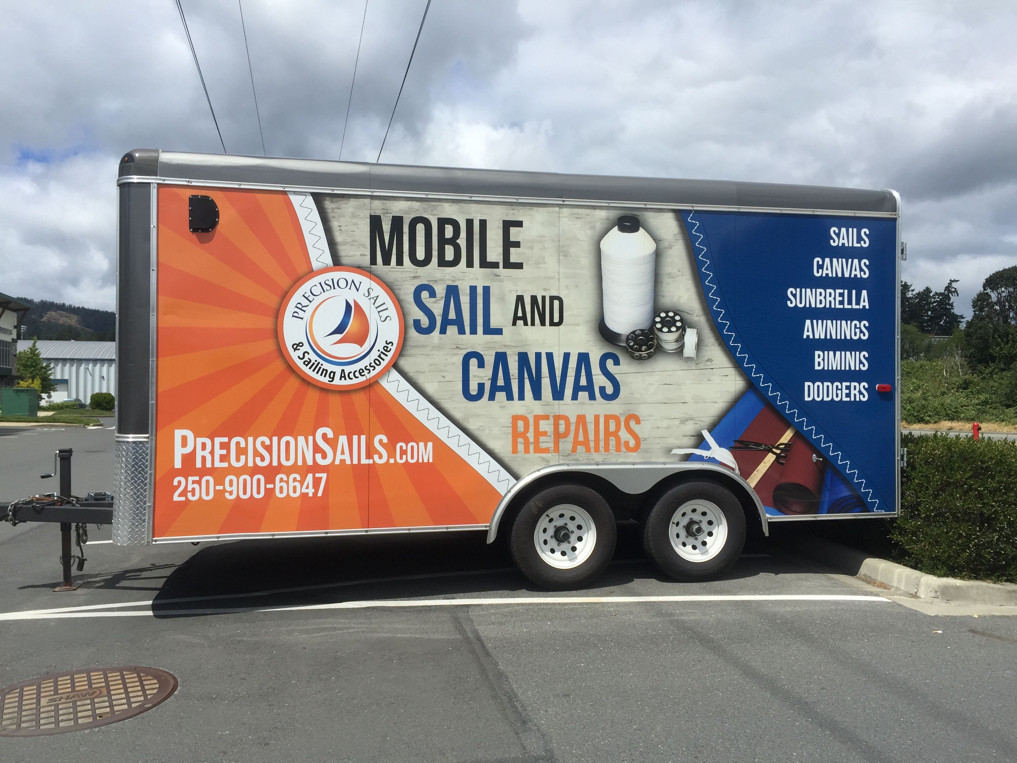 TRAILERS advertising wraps