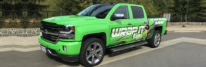 Wrap it sign VEHICLE GRAPHICS