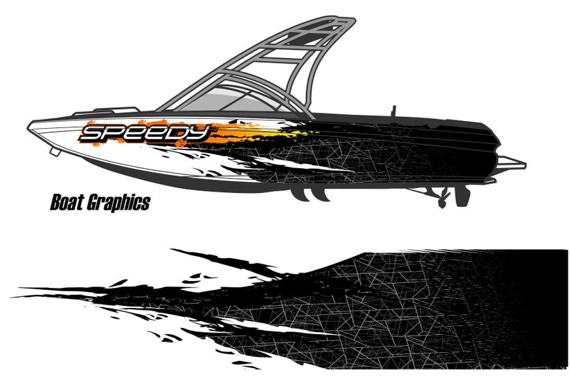 Boat graphics wraps