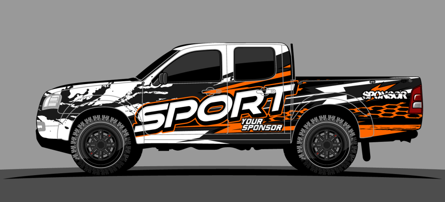 Vehicle graphics wraps